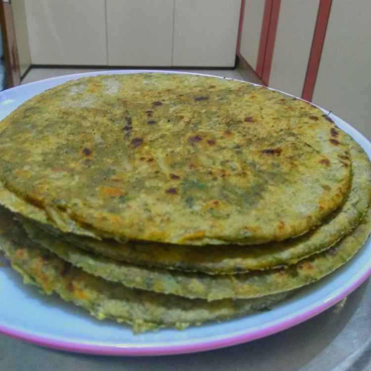Photo of Drumstick leaves aloo parota by kalyani shastrula at BetterButter