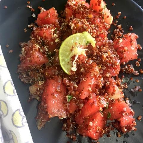 Photo of Watermelon Quinoa Salad by Kalyani S at BetterButter