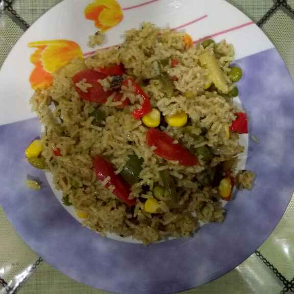 How to make Mix vegetable pulao
