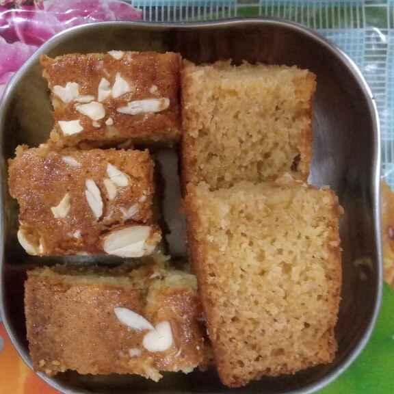 How to make Eggless Vanilla sponge cake
