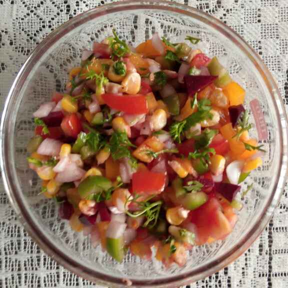 How to make Exotic salad