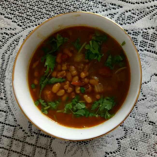 How to make Lal Chori Nu Shaak(Adzuki Beans/Red Cowpeas)