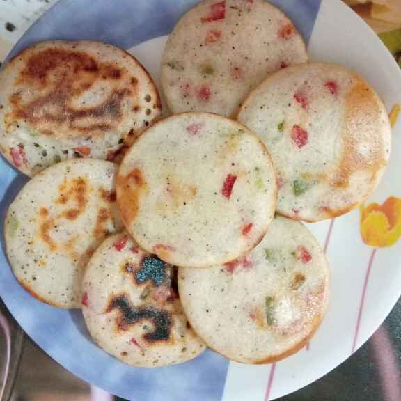 How to make Mix Vegetable Uttapam
