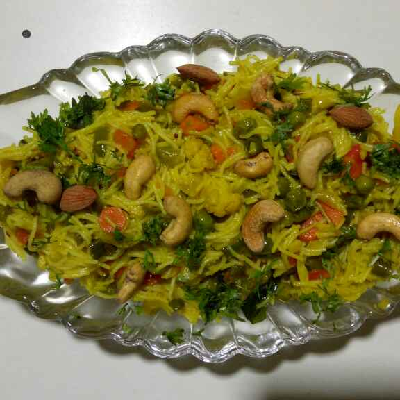 Photo of Sevai pulao (Rice vermicelli pulao) by Dr.Kamal Thakkar at BetterButter