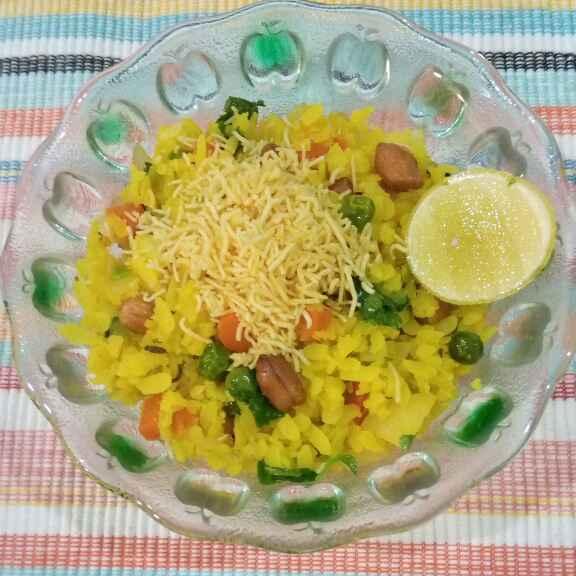 Photo of Vegetable pohe by Dr.Kamal Thakkar at BetterButter