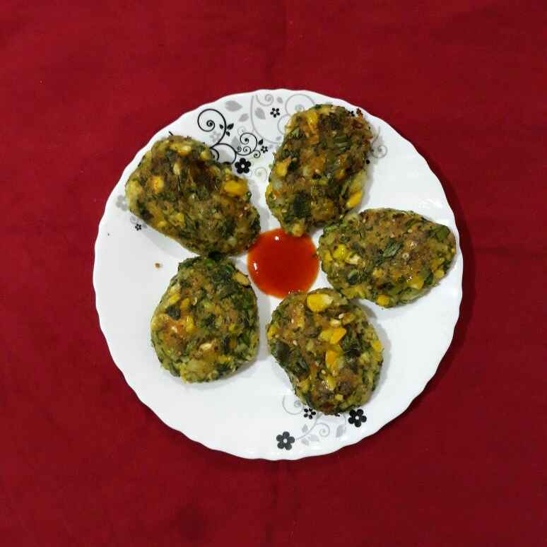Photo of Spinach Corn Cutlets by Dr.Kamal Thakkar at BetterButter