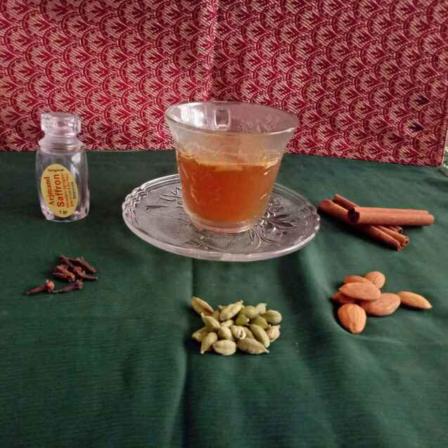 How to make Kashmiri kahwa