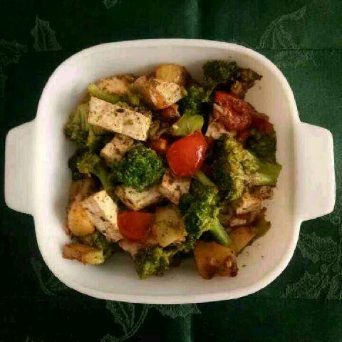 How to make Broccoli ,aloo and paneer sabzi