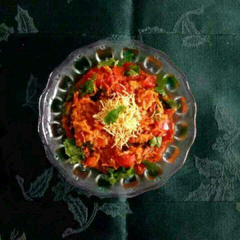 How to make Sev tameta nu shaak