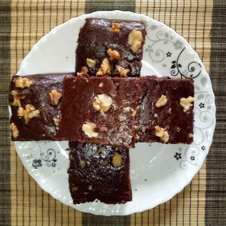 How to make ઘઉં ના લોટ ની બ્રાઉની