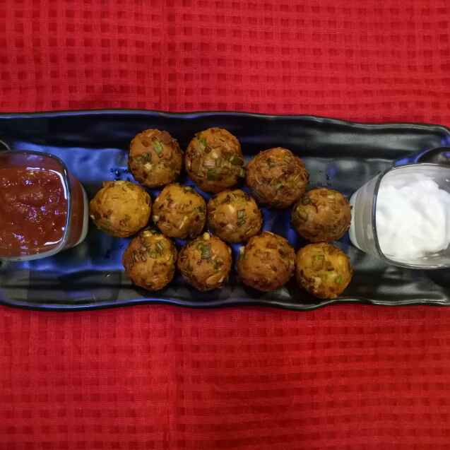 Photo of Schezwan cheese balls by Dr.Kamal Thakkar at BetterButter