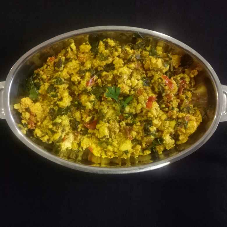 How to make Methi paneer bhurji