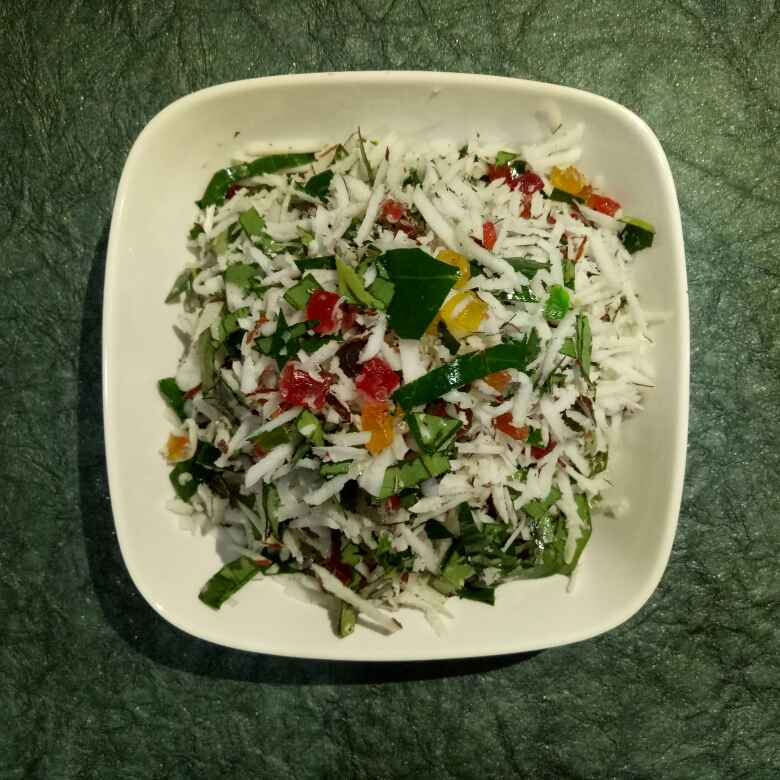 Photo of Coconut paan mouth freshner(mukhwas) by Dr.Kamal Thakkar at BetterButter