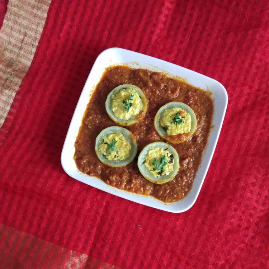 How to make भरवा लौकी