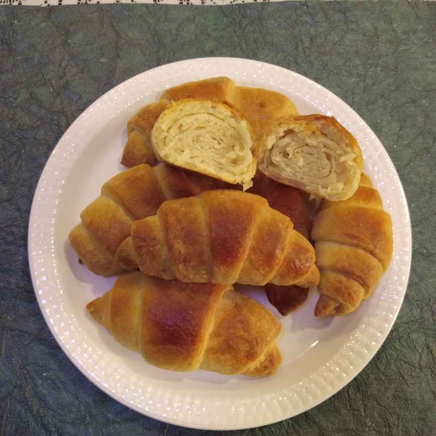 Photo of French Croissants by Dr.Kamal Thakkar at BetterButter