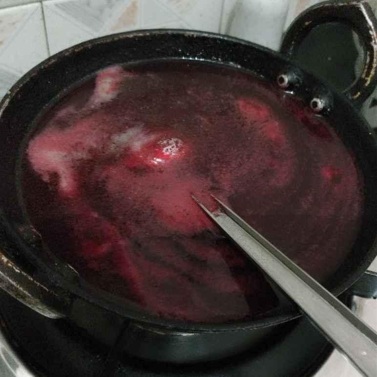 Photo of Beetroot soup by Kamala Nagarajan at BetterButter