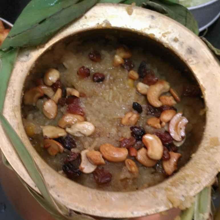 How to make Sakkarai pongal