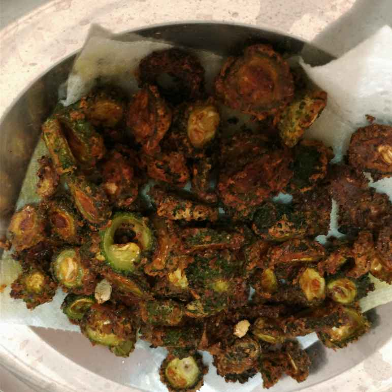 How to make Bitter gourd fry