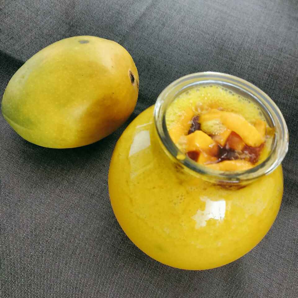 How to make Mango Juice by Natural
