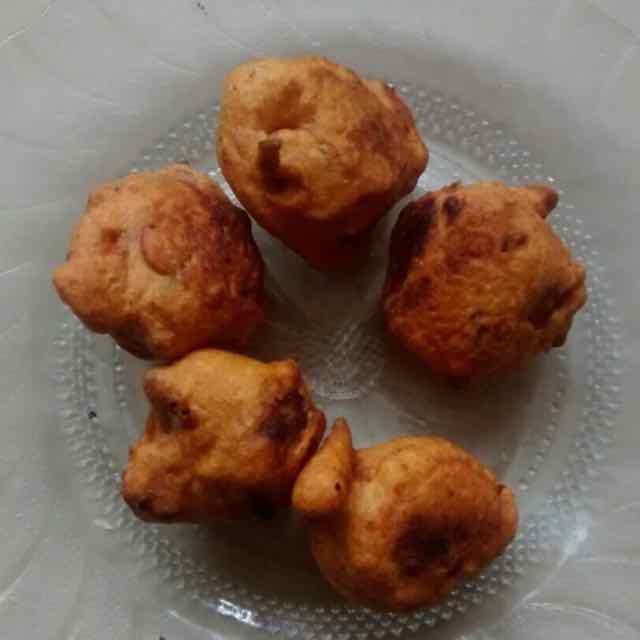 How to make sweet potato bonda.