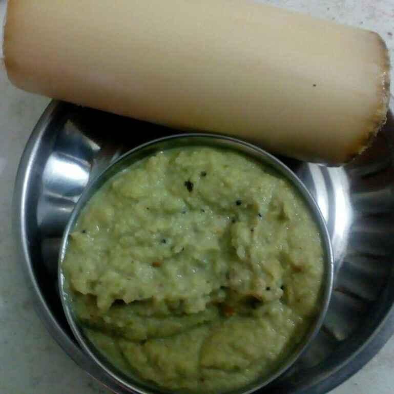 Photo of Banana Stem Chutney by kamala shankari at BetterButter