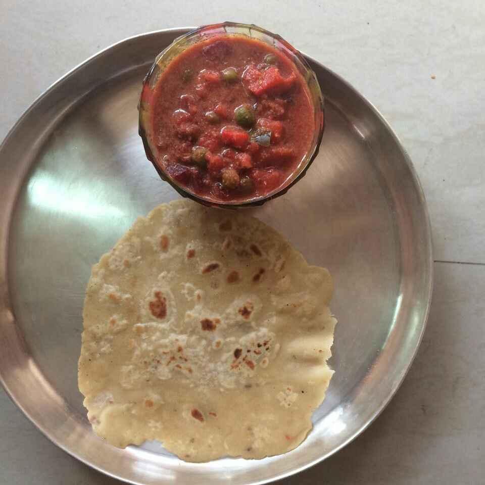 How to make Sweet potato chappathi