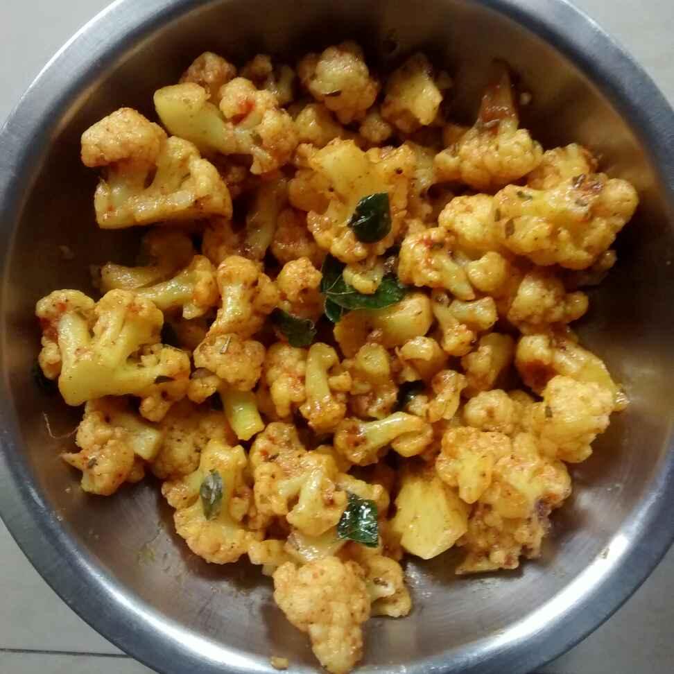Photo of Cauliflower fry by kamala shankari at BetterButter
