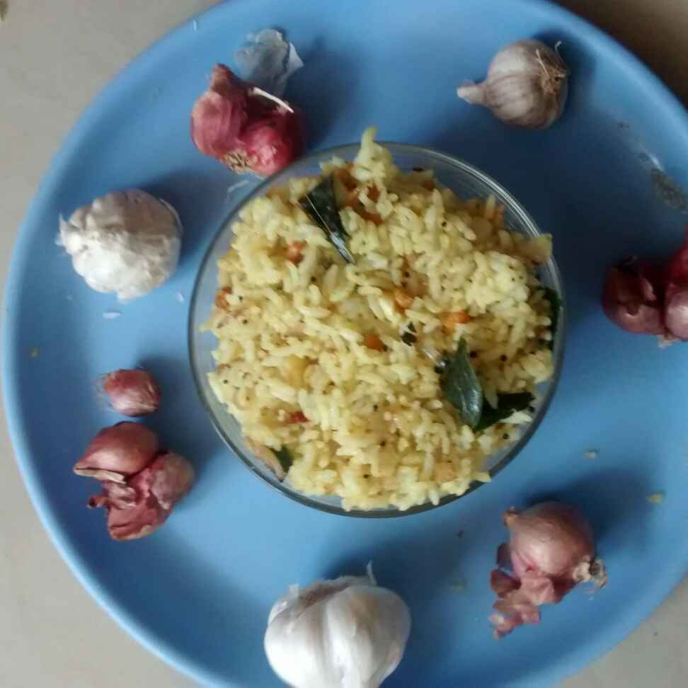Photo of Garlic onion rice by kamala shankari at BetterButter