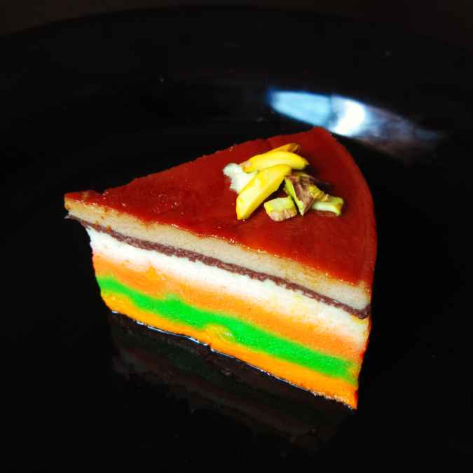 Photo of RAINBOW pudding by Kamalika Bhowmik at BetterButter