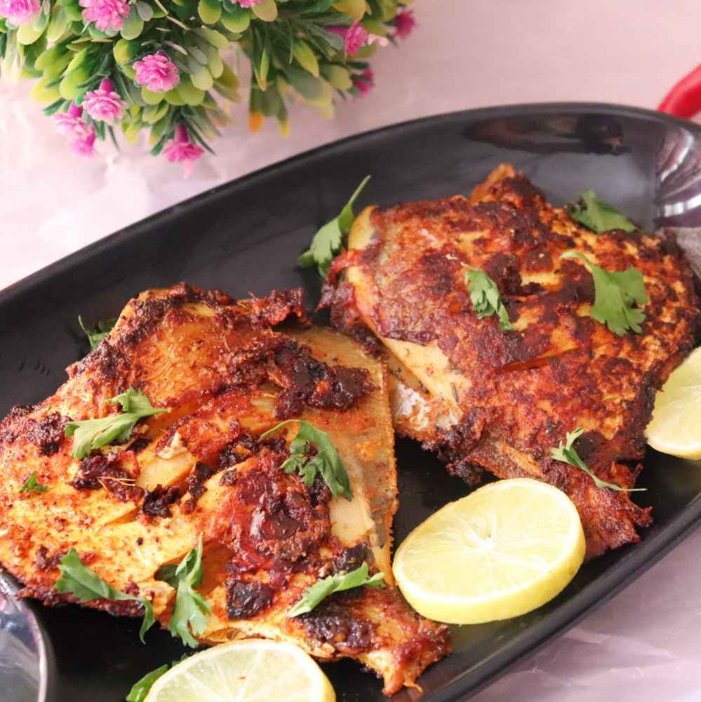 How to make TAWA pomfret fry