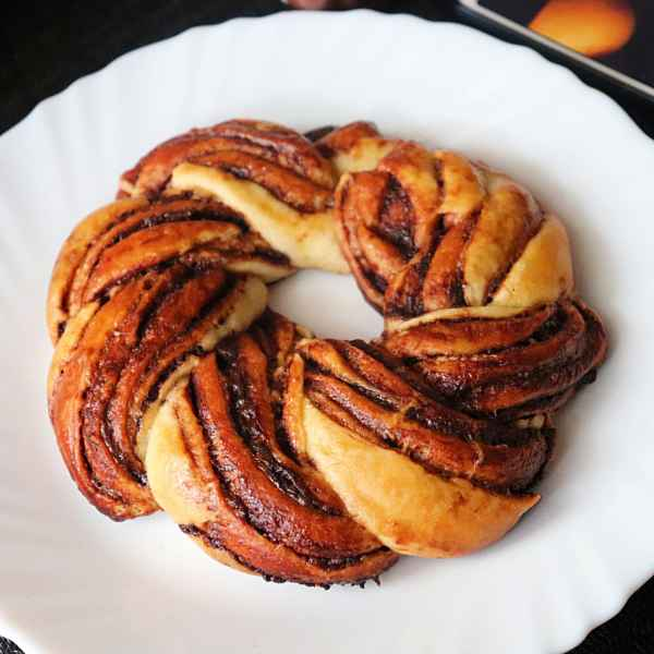 Photo of NUTELLA braided bun by Kamalika Bhowmik at BetterButter