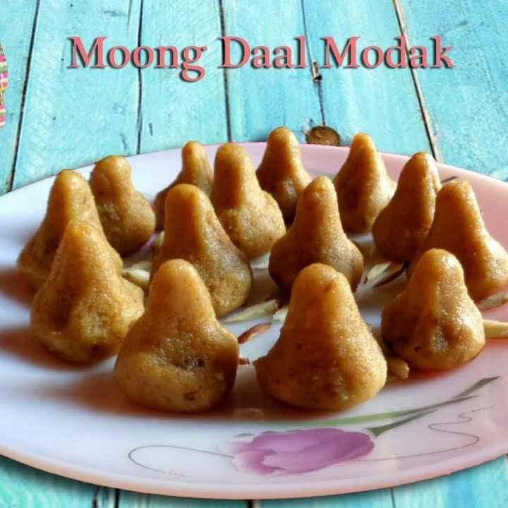 How to make Mung dal modak