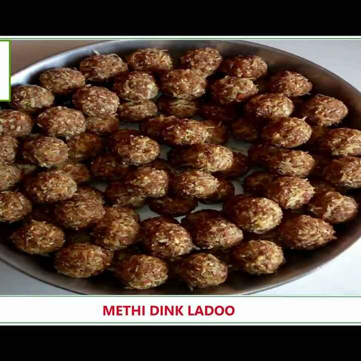 Photo of Methi dink ladoo by kanchan date at BetterButter