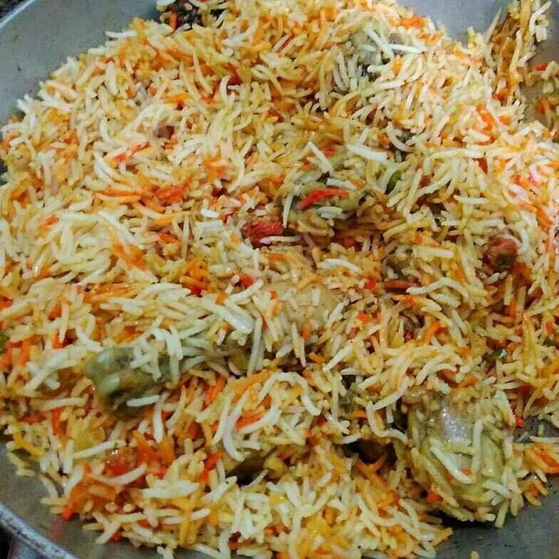 Photo of Hyderabadi Chicken biryani by Kanupriya  at BetterButter