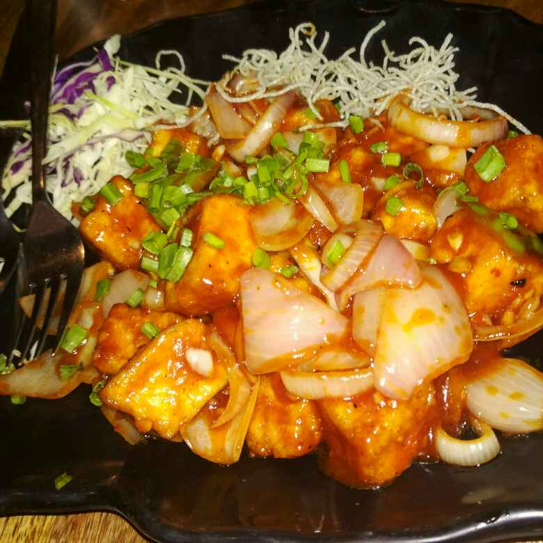 How to make Paneer chilli