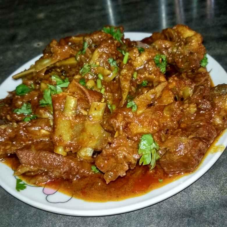 How to make Bengali mutton kasha