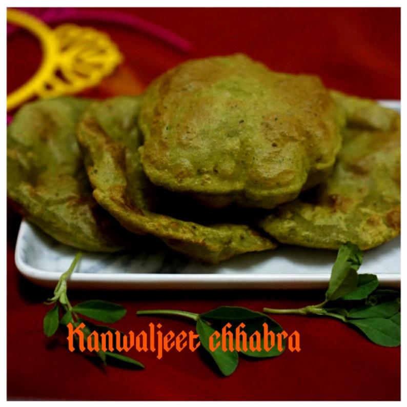 How to make Methi Diyan Puriyan (Methi Puri)