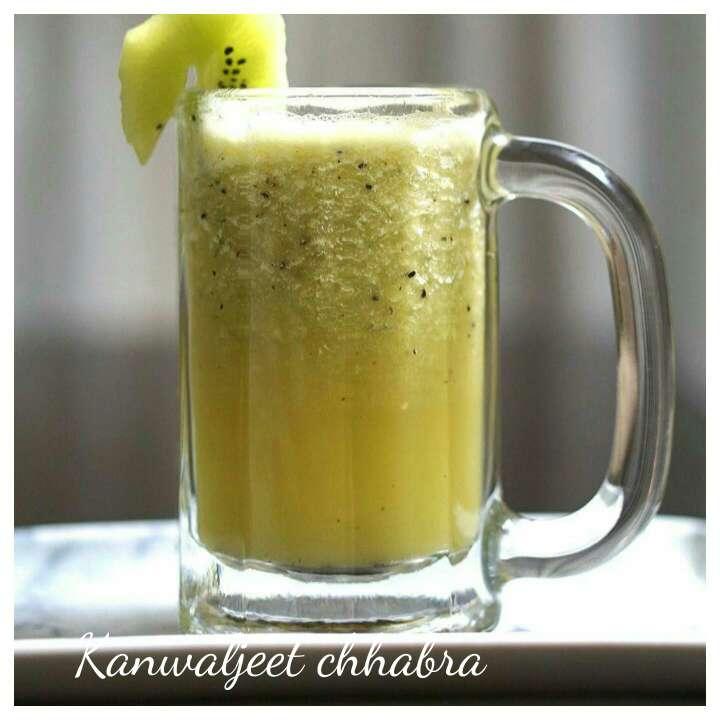 Photo of Sugarcane Kiwi Cooler by Kanwaljeet Chhabra at BetterButter