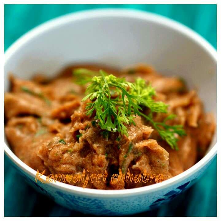 How to make Ragi flour ( nachni ) khichu