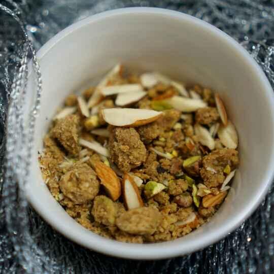 Photo of Panjeeri (grandma recipe ) by Kanwaljeet Chhabra at BetterButter