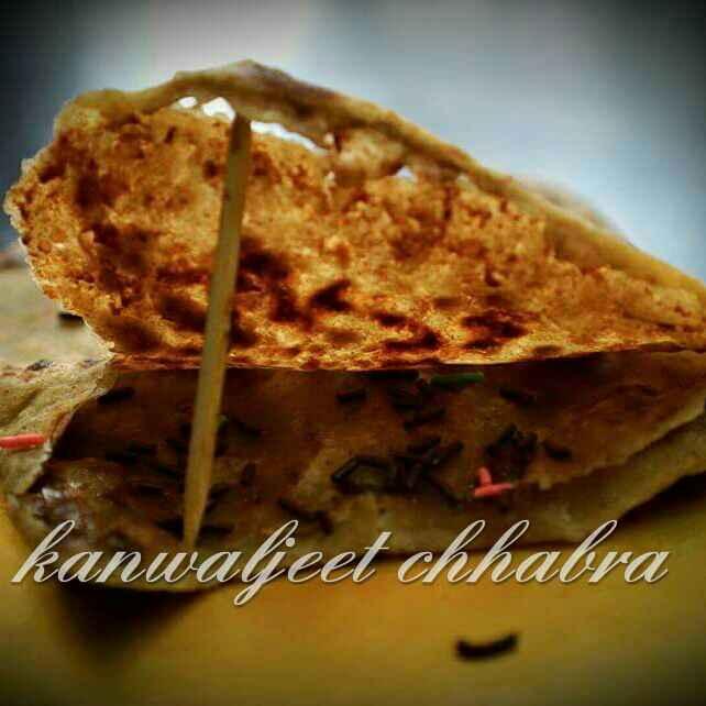 Photo of Chocolate Stuffed Paratha by Kanwaljeet Chhabra at BetterButter