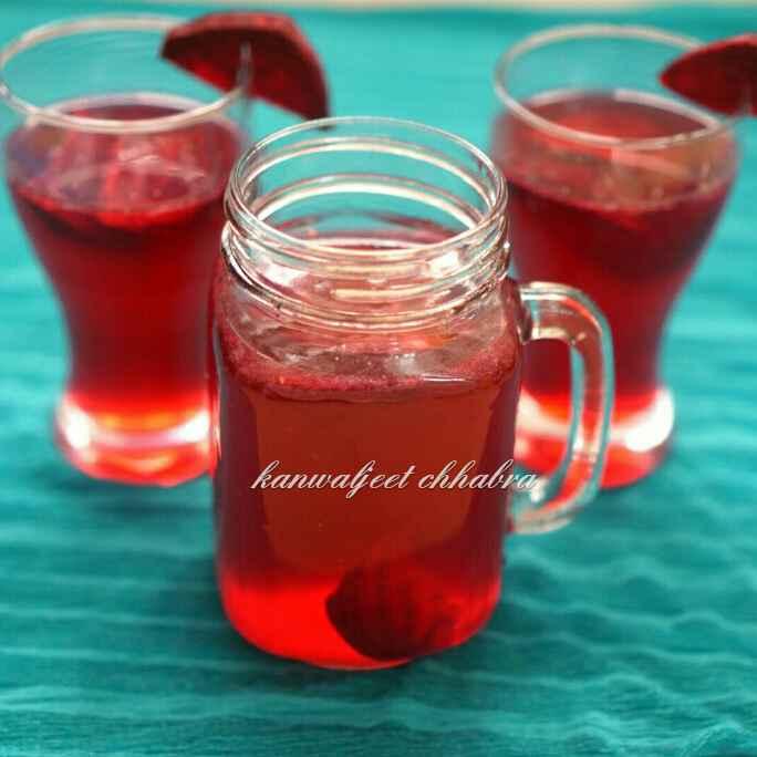 Photo of Beetroot Lemonade by Kanwaljeet Chhabra at BetterButter