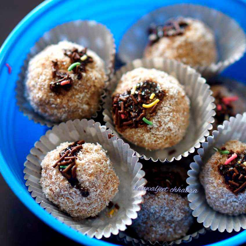 How to make Choco coconut balls