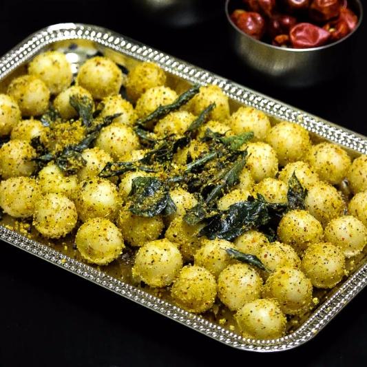 How to make Spicy Ammini Kozhukattai