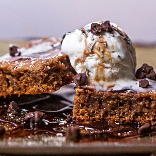 How to make Eggless Cakey Brownies
