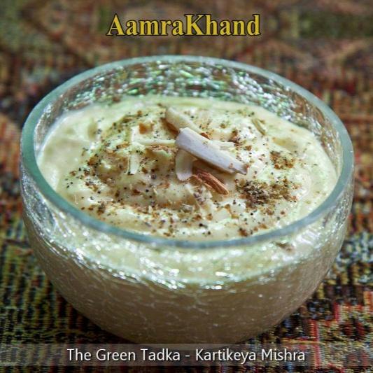 How to make Aamrakhand