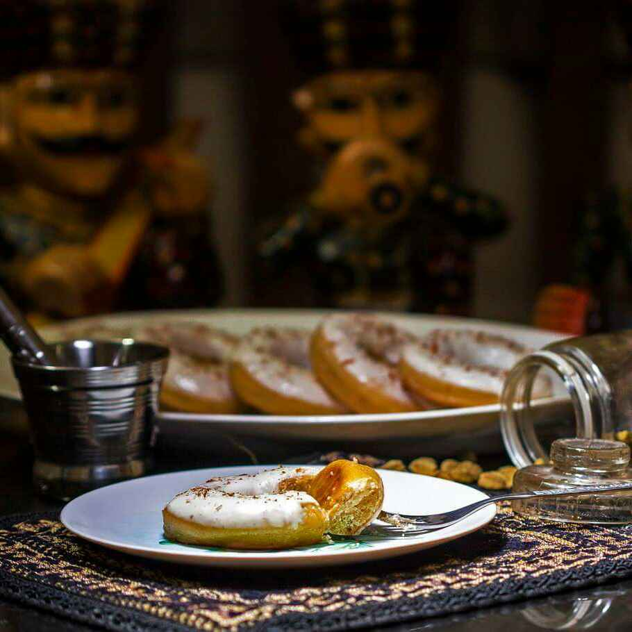 Photo of Cardamom Flavoured Baked Donuts by Kartikeya Mishra at BetterButter