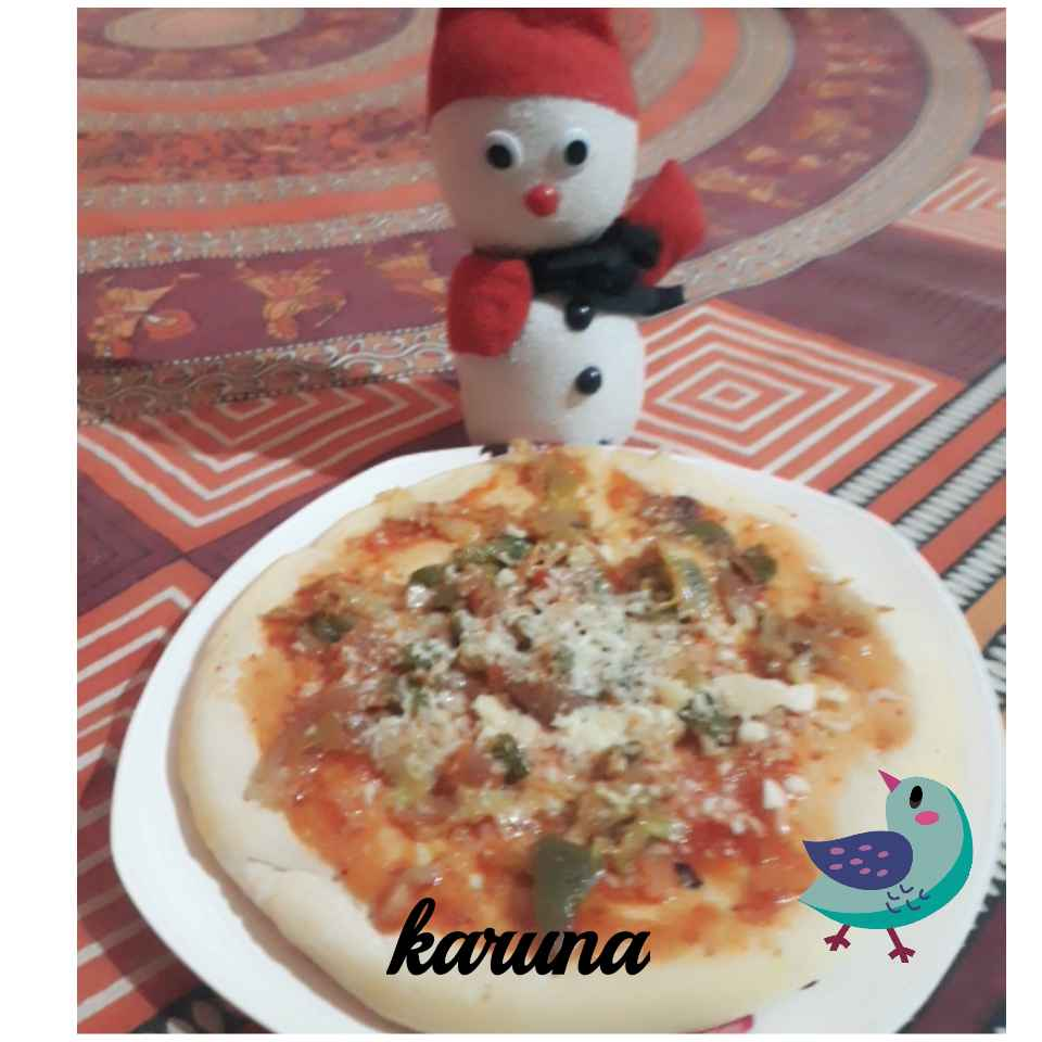 How to make Vegetables pizza
