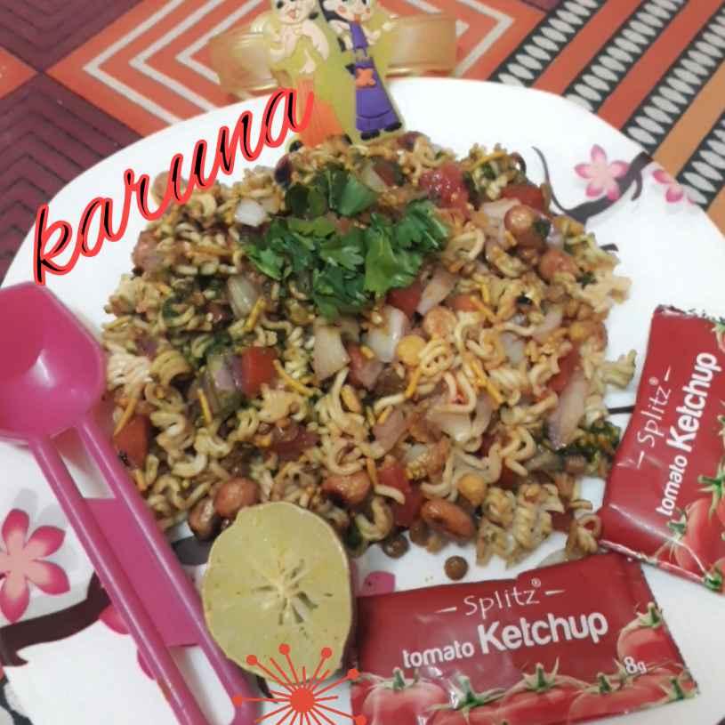 Photo of Maggi Bhel by Karuna Chandwani at BetterButter