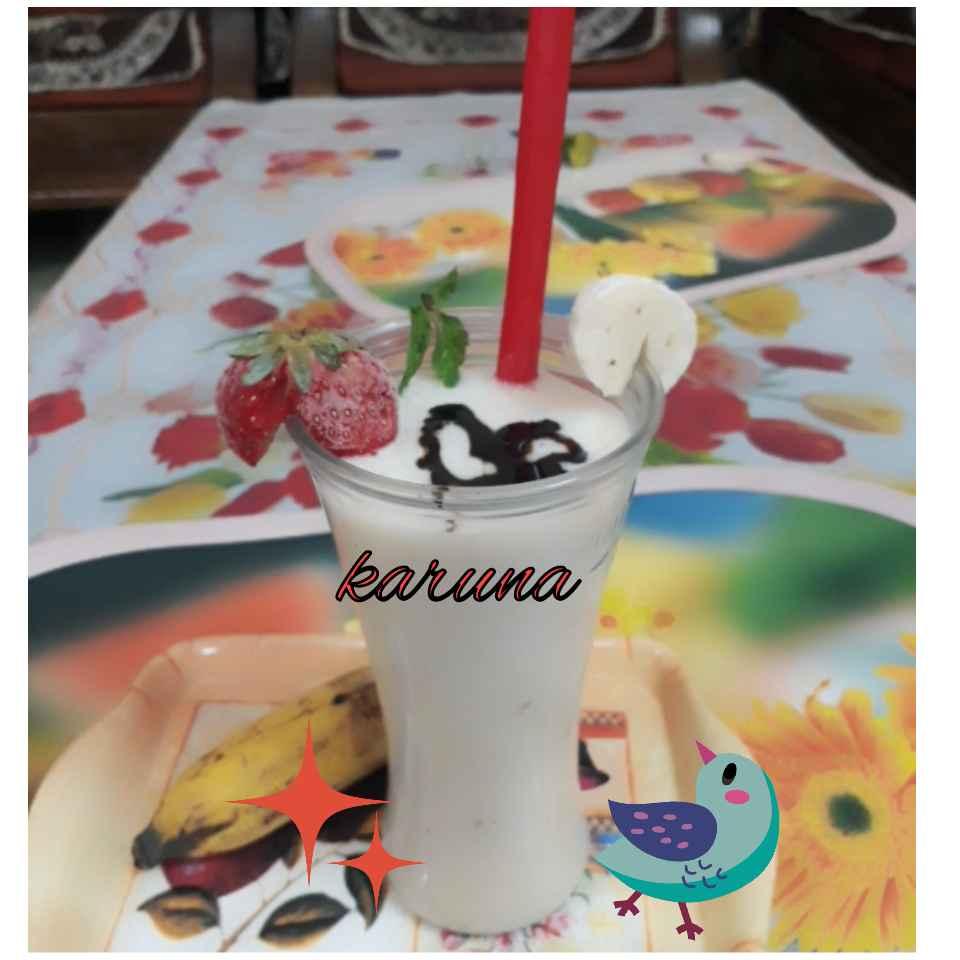 How to make Banana milkshake